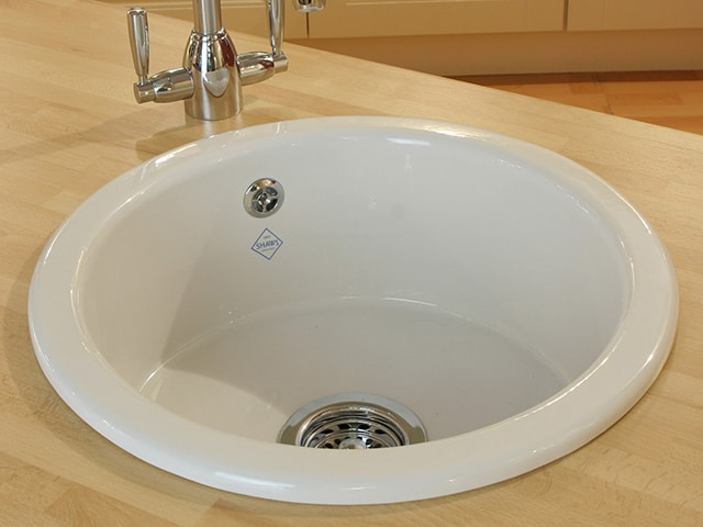 round ceramic kitchen sink inset undermount kitchen sink shaws of darwen 4884